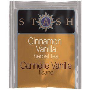 Stash Tea Cinnamon Vanilla Herbal Tea : Holiday Teas