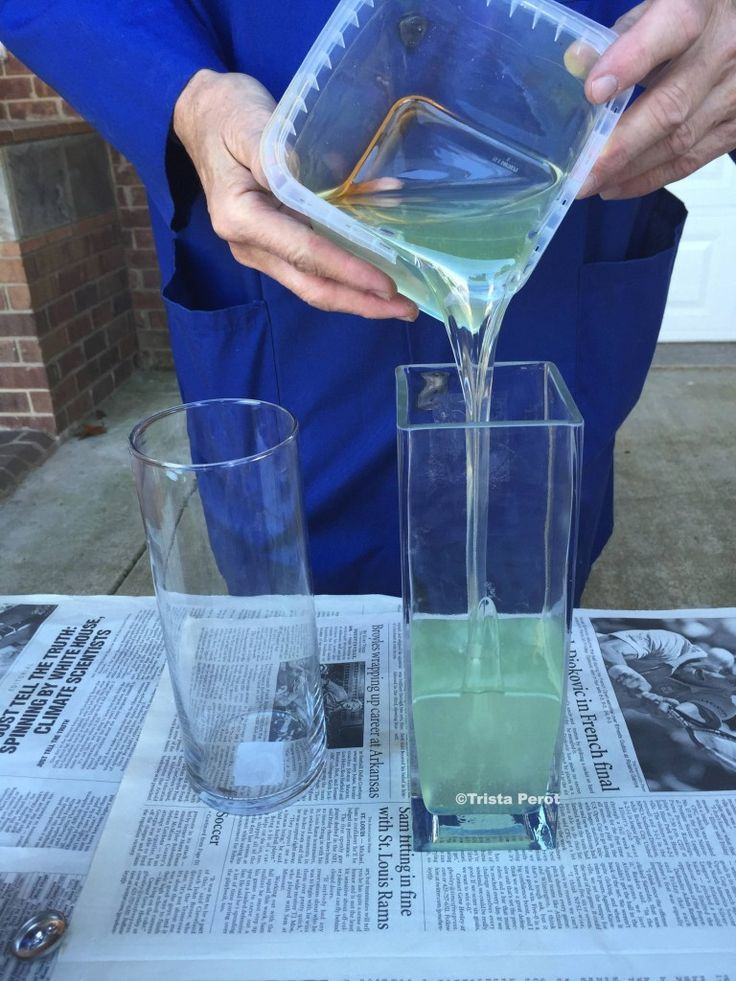 Making Fake Water For Artificial Flowers Crafts Flowers