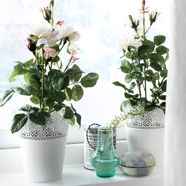 إلى كل محبيّ الأزهار والورود! مجموعة رائعة من أواني النباتات تناسب جميع الأذواق تجدونها في #ايكيا