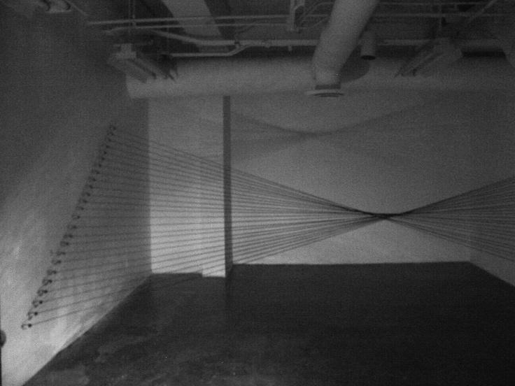 Morgan Bentham, Dividing Space, 2009