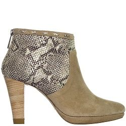 City Boot Snake/Taupe