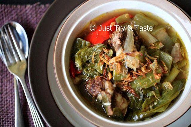 Sup Iga Sapi Sawi Asin dengan Slow Cooker | Just Try & Taste
