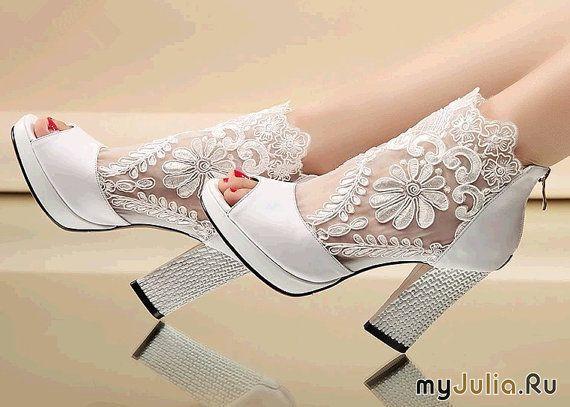 Кружевная обувь
