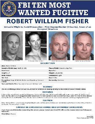 ROBERT WILLIAM FISHER — FBI