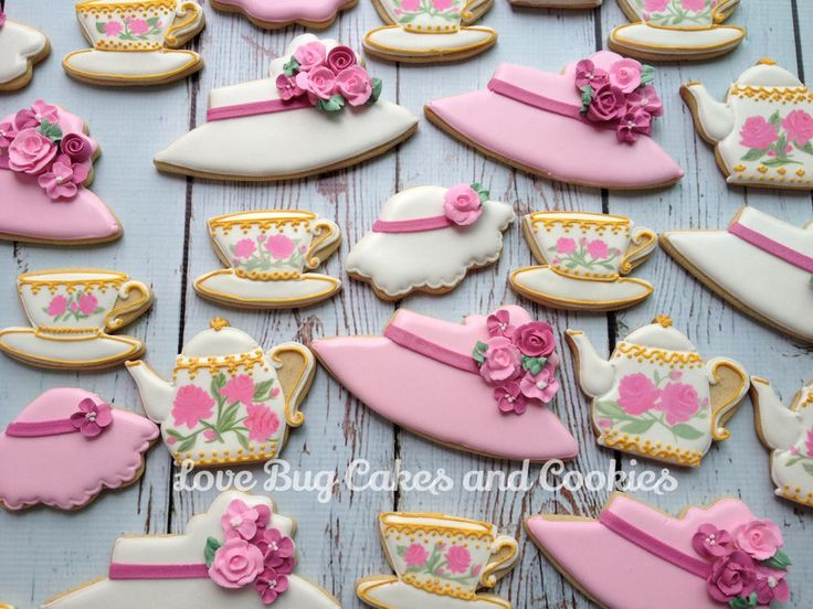 Tea Party Cookie Connection Love Bug Cakes And Cookies