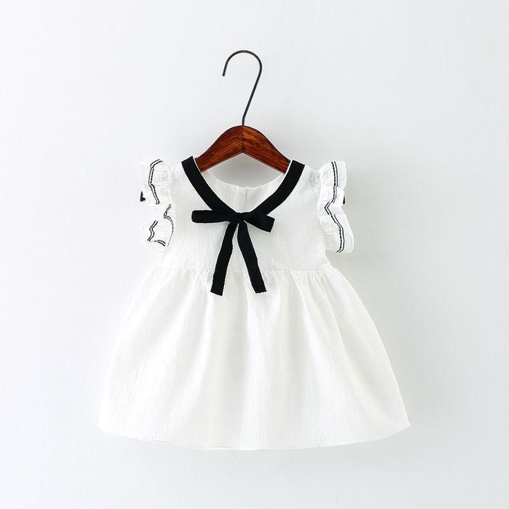 Ucuz Lolita tarzı kız bebek için yaz dress fırfır saf renk pamuk bebek elbiseler bebek kız giysileri, Satın Kalite Elbiseler doğrudan Çin Tedarikçilerden: Lolita tarzı kız bebek için yaz dress fırfır saf renk pamuk bebek elbiseler bebek kız giysileri