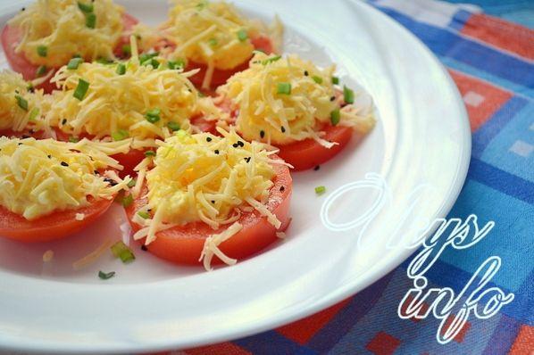 Pomidory s syrom chesnokom 10
