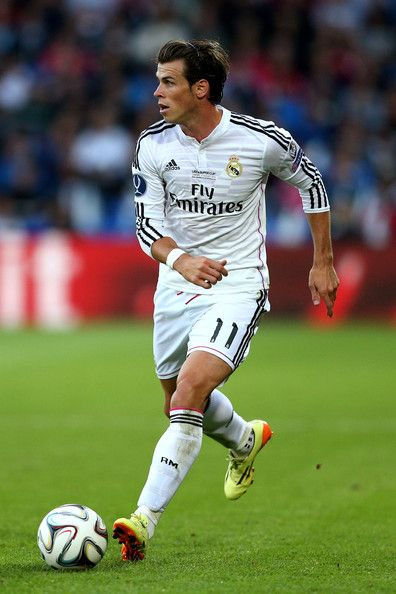 Gareth Bale - Real Madrid v Sevilla, 12th August 2014 - UEFA Super Cup