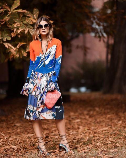 Os melhores looks das famosas para assistir aos desfiles da semana de moda de…