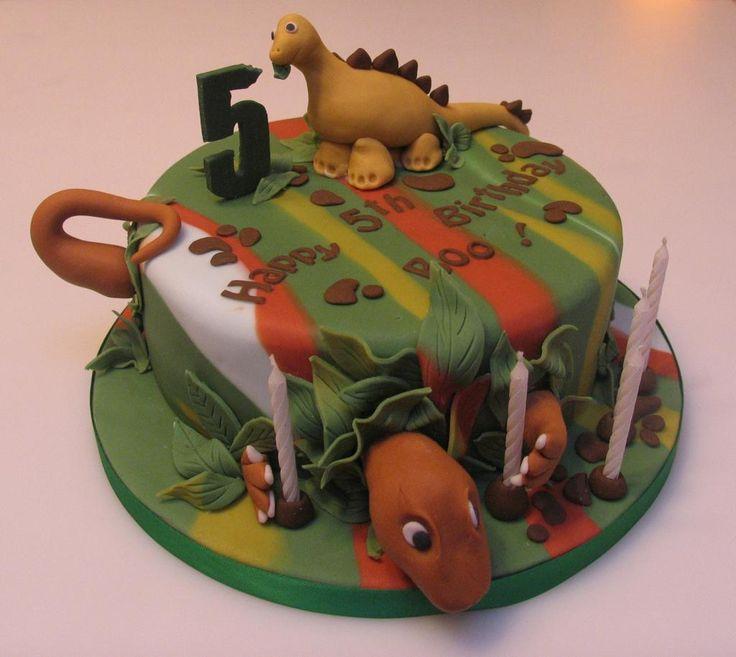 Safeway Dinosaur Cake