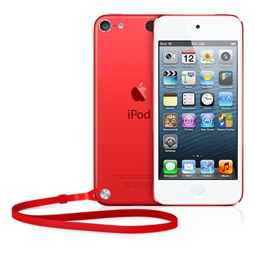 iPod touch  - the (PRODUCT) Red version... Apple will give a portion of the purchase price to the Global Fund to fight AIDS in Africa.  $299 - AD