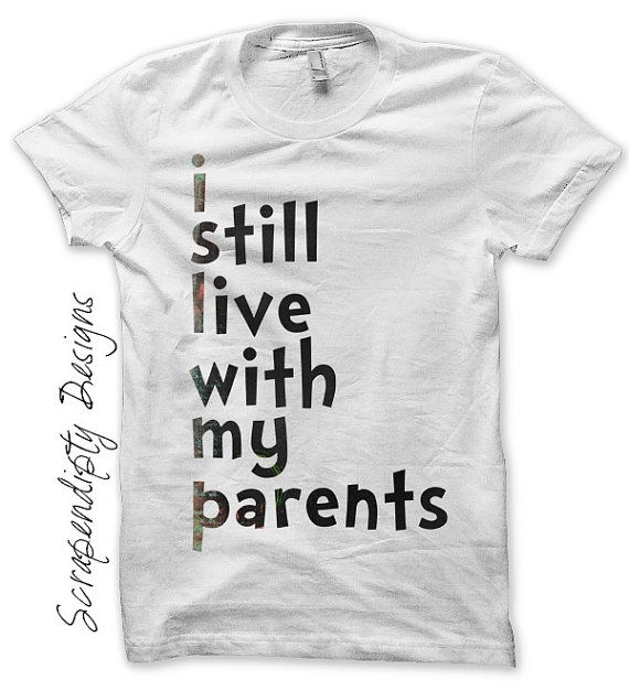 Live With Parents Iron on Transfer - Baby Iron on Shirt PDF / Cute Kid Clothes / Baby Shower / Toddler Boys Shirt / Kids Girl Clothing IT164 on Etsy, $2.50