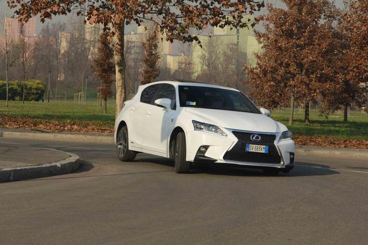 Test Drive Lexus CT 200 Hybrid F sport
