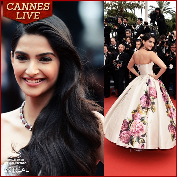 Sonam Kapoor channels her inner princess at Cannes 2013