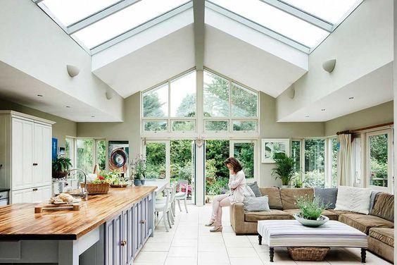 Light filled kitchen extention neville home
