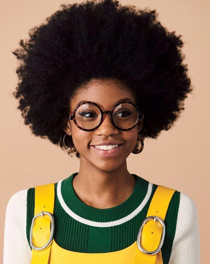 short natural afro hairstyles