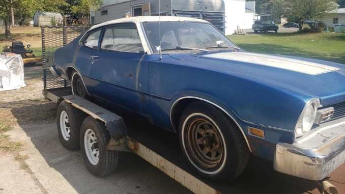 1976 Ford Maverick 2 Door Project 302 For Sale In Bucyrus Ohio