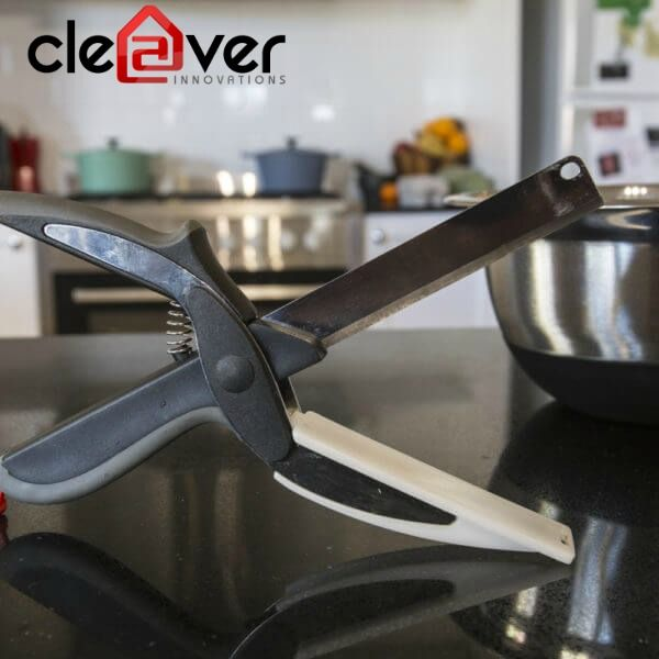 Try Cleaver Innovations smart kitchen tools to bring smartness in your kitchen and available at reliable price. To view the products, follow the link https://goo.gl/CbmKCN #cleaverinnovations #smartcutter