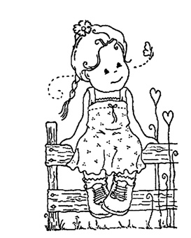 printable stamp coloring pages - photo#23