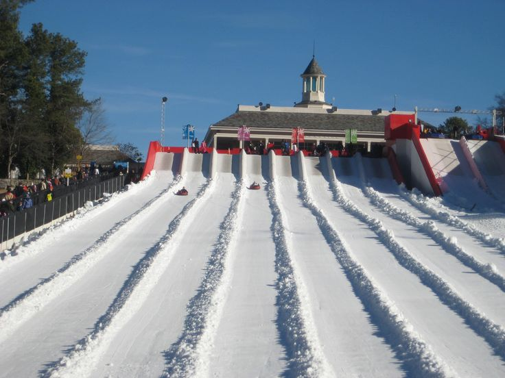If you're seeking fun winter activities with kids in Atlanta, see why our family makes an annual trip to Snow Mountain in Stone Mountain, Georgia.