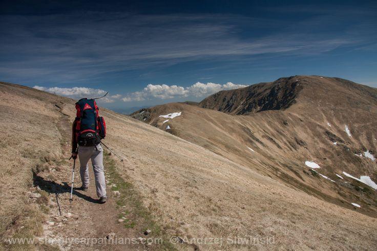 On a trail. Low Tatras #Slovakia #outdoors #hiking www.simplycarpathians.com