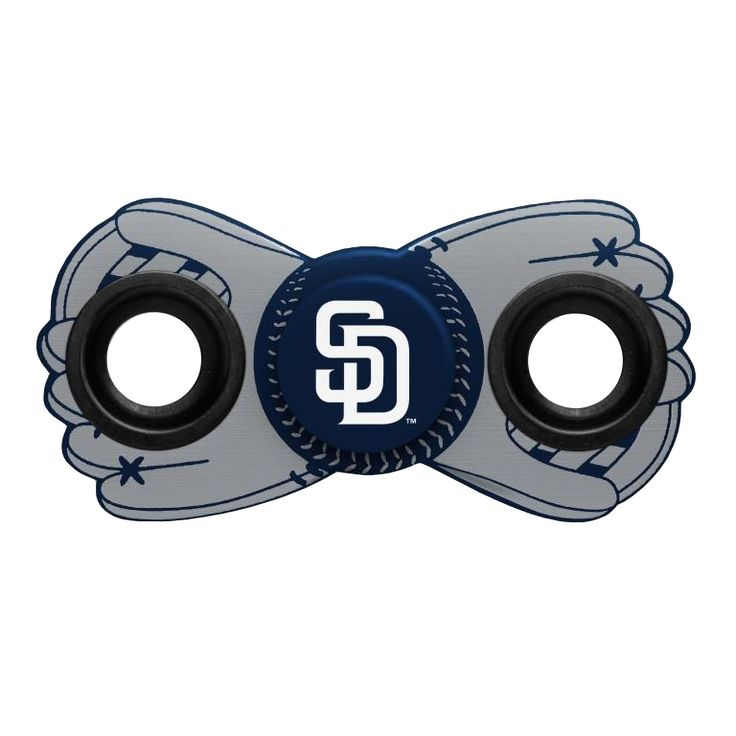 San Diego Padres MLB Diztracto Two Way Team Fidget Diztracto Spinner **PREORDER - SHIPS IN JUNE**