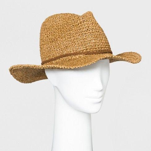 c94819da7b2bc Women s Panama Hat - Universal Thread™ Brown   Target