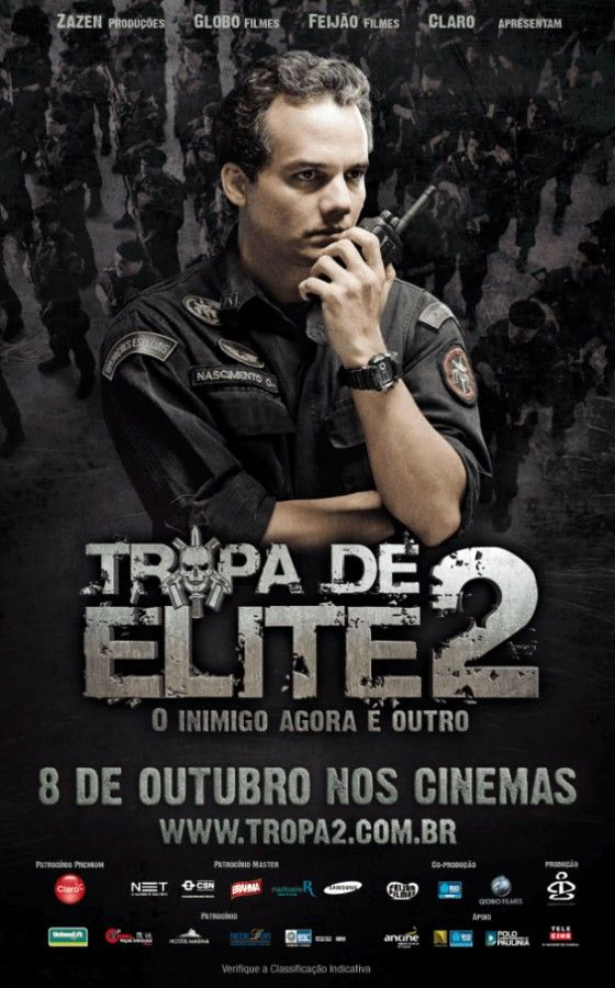 TROPA DE ELITE 2: Filme Nacional, Brazilian Movie, Movie Brazil, Worth Se Movie, Action Movies, De Elite, Movies 10, Filme Tropa, Special Force