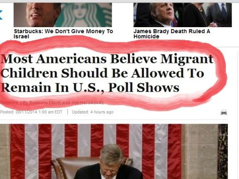 Huffington Post Lies About Border Poll Results. No spin here, folks, just a straight-out, bold-faced, indefensible LIE.