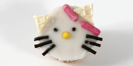 Hello Kitty-muffins