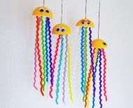 Colorful Jellyfish Craft « Ganz Parent Club
