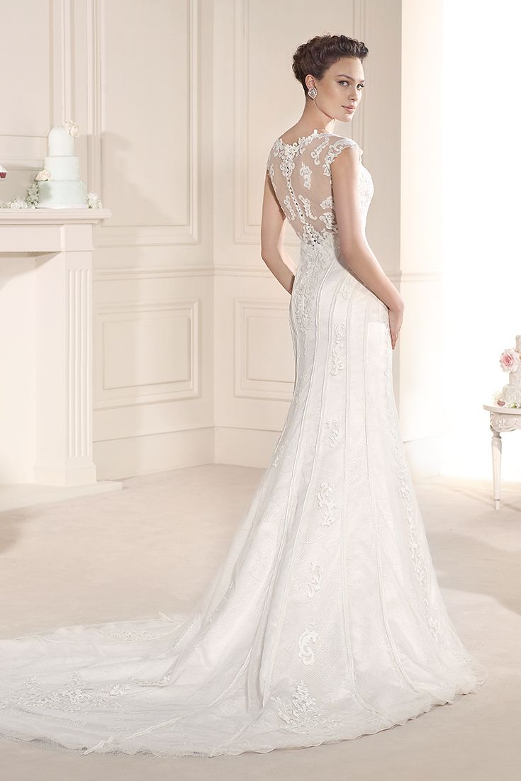 Try the stunning Garbo #bridal gown at selected Peter Trends stockists.