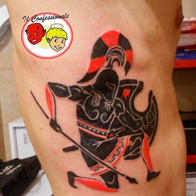 #tatuaggio #oplita #greco by Il Confessionale