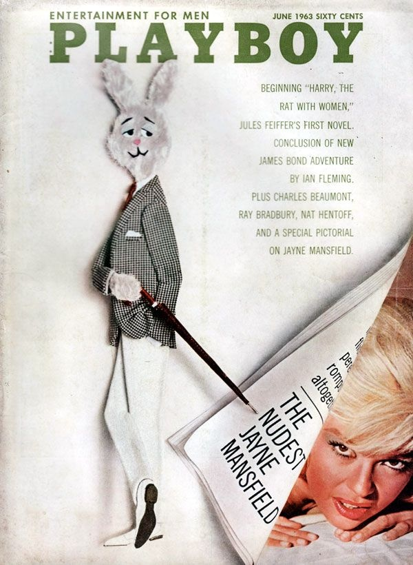 Jayne Mansfield - Playboy Magazine [United States] (June 1963)