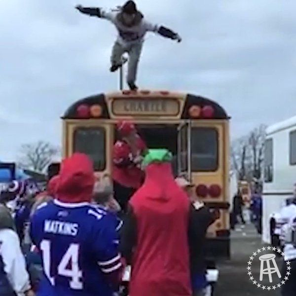 Bar Stool Sports will be releasing a documentary about Buffalo Bills fans tailgating on June 20th  https://twitter.com/barstoolsports/status/872834360910544897 Submitted June 08 2017 at 11:57AM by oWNYo via reddit http://ift.tt/2r6rw5h
