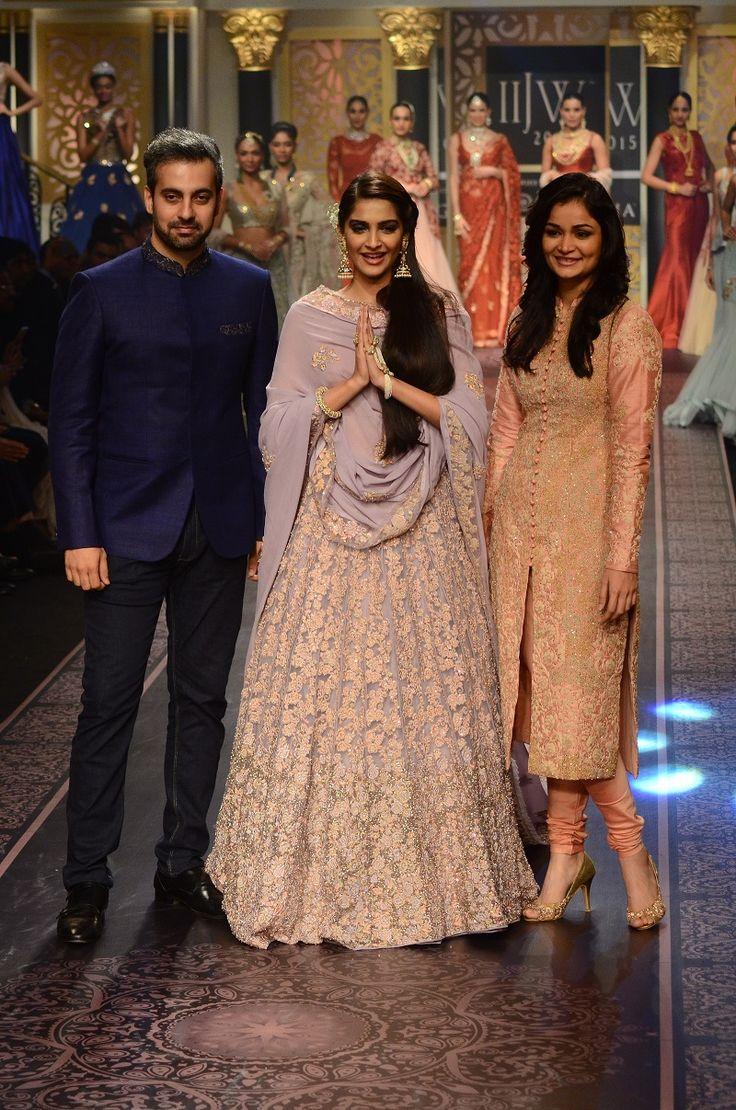 Designers Shyamal & Bhumika, SOnam Kapoor