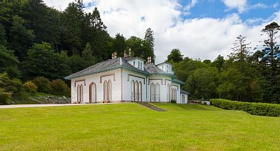 Loch Lomond, Helensburgh & Dunbartonshire chateau / country house rental - Front of House