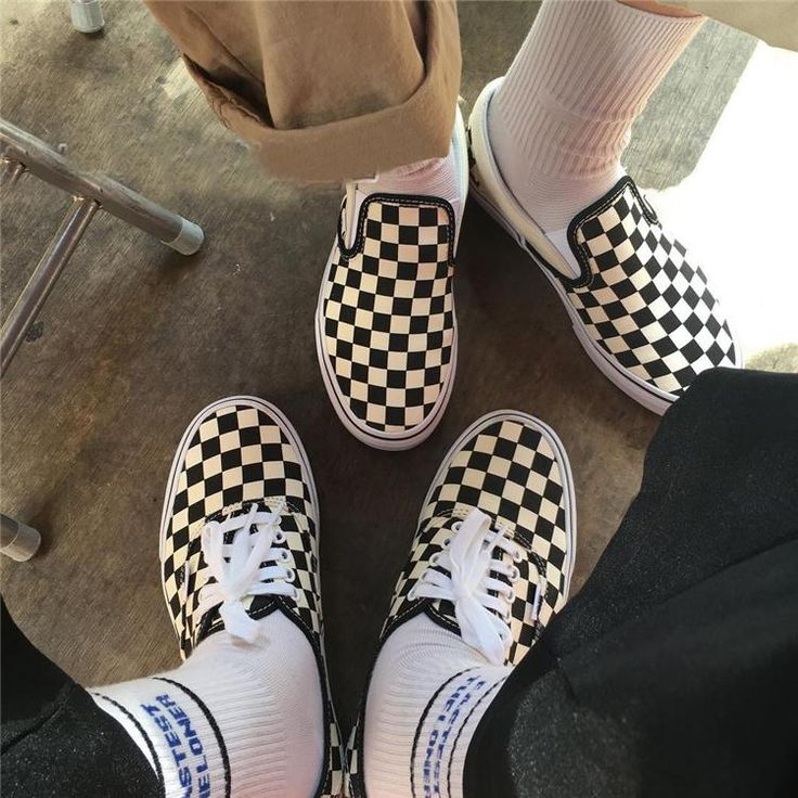 Checkers Canva Shoes at Boogzel Apparel