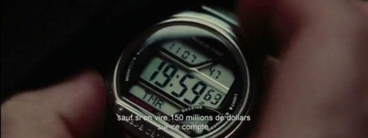Du nouveau sur le blog ! Liam Neeson affiche sa montre Casio dans son nouveau film « Non Stop ».  http://blog.monting.fr/