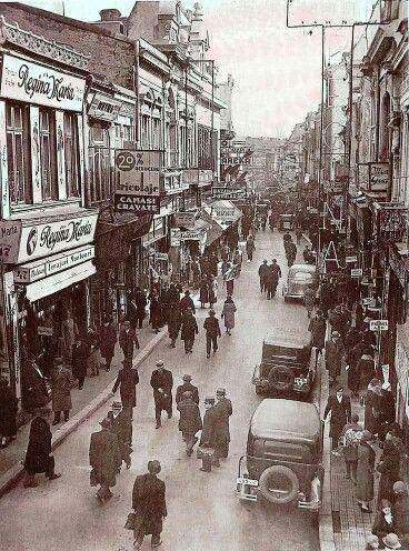 Strada Lipscani, 1929/ Lipscani Street, 1929