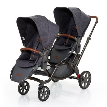 ABC-Design Zoom Tandem Pushchair-Street Now in its 10th year, the multi award winning ABC Design Zoom continues to change and adapt to meet the requirements of today?s modern families whist keeping true face-to-face interaction for children http://www.MightGet.com/march-2017-1/abc-design-zoom-tandem-pushchair-street.asp