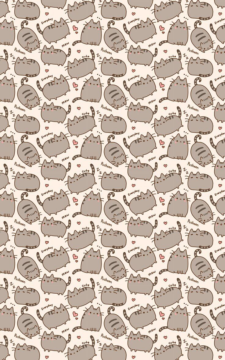 Pusheen the Cat Wallpaper | iPhone Wallpapers | Pinterest ...
