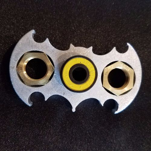 Deluxe batman fidget spinners!  Will not break! Unique, one of a kind toy