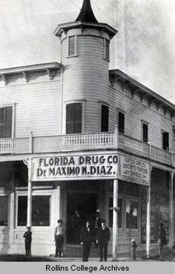 Photographer unknown, Ybor City Drugstore, Ybor City, Florida, 1890s. - More great photos at the link