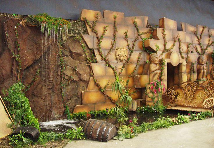 Hand made jungle decoration ideas jungle d cor jungle for Decoration jungle