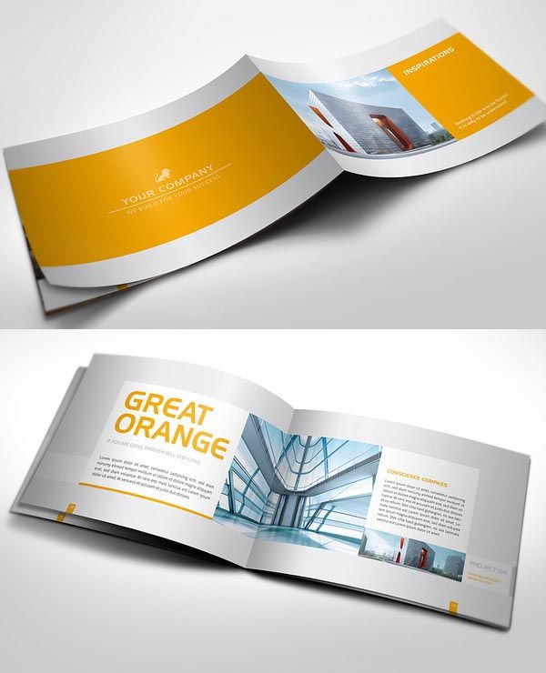 Best Design  Brochures Images On   Editorial Design