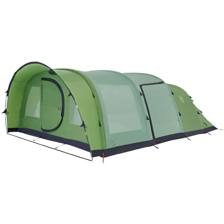 The Coleman Fastpitch Air Valdes 6XL Tent 6 Person Inflatable Tent This 6 berth family Tent offers generous Living space and blackout bedrooms The