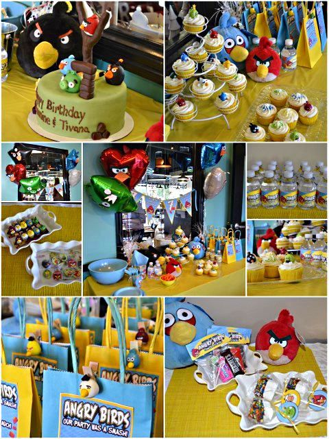 Angry Birds Party Ideas for Kids  http://www.perfect-parties.com/angry-birds-party.html #kidsparty