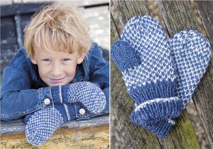 Sticka varma och fina barnvantar! Här är beskrivningen som ser till att ingen fryser om händerna.