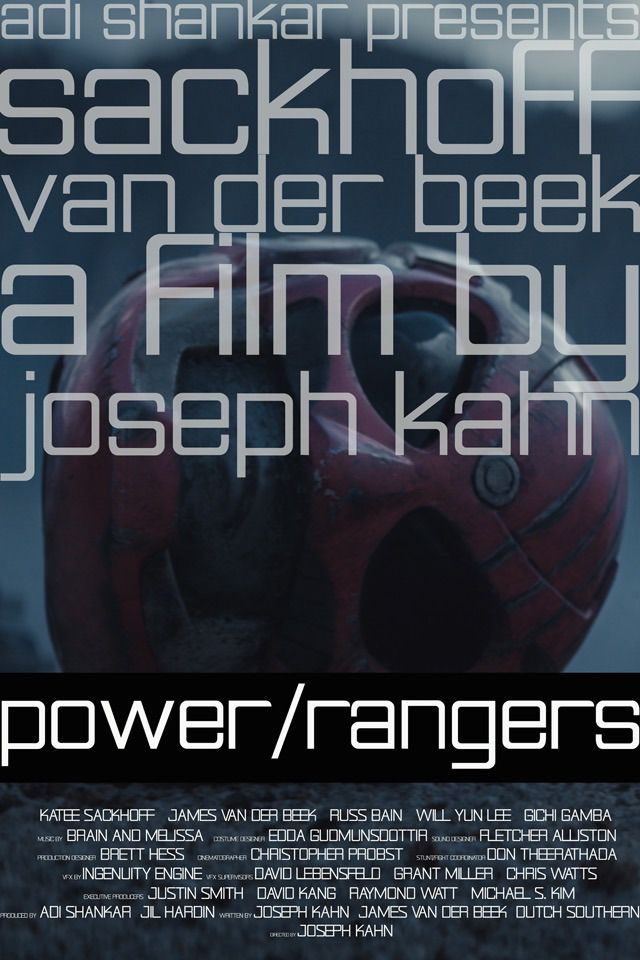 Power Rangers - A film by Joseph Kahn